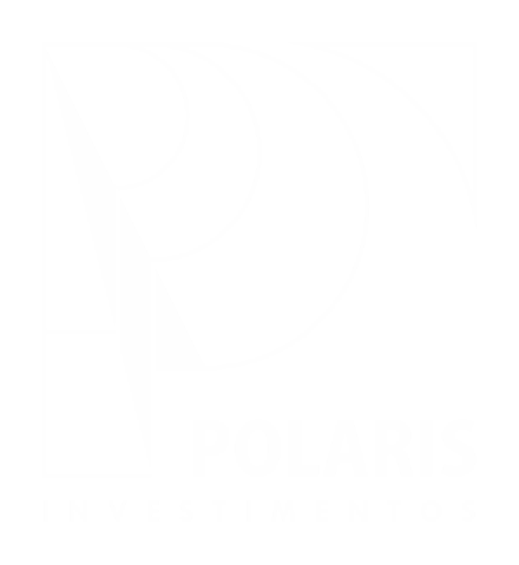 Logo POLARIS – Assinatura Preferencial – Traço em Branco
